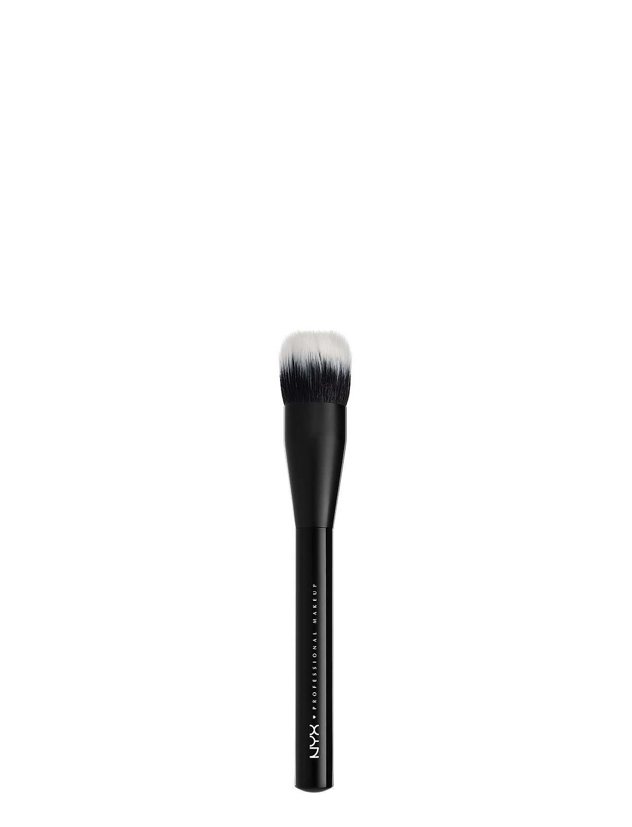 Image of Pro Dual Fiber Foundation Brush Beauty WOMEN Makeup Makeup Brushes Face Brushes Nude NYX PROFESSIONAL MAKEUP (3158628569)
