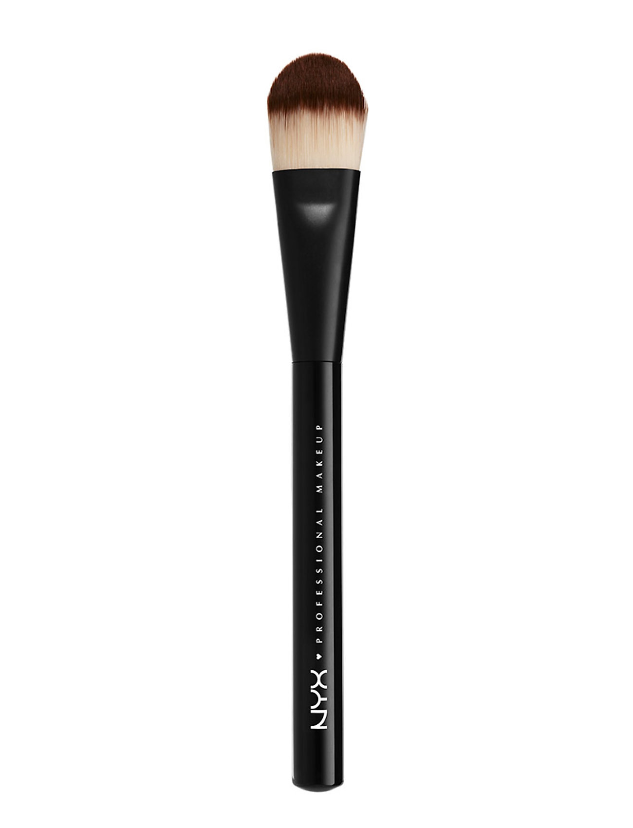 Image of Pro Flat Foundation Brush Beauty WOMEN Makeup Makeup Brushes Face Brushes Nude NYX PROFESSIONAL MAKEUP (3414619289)