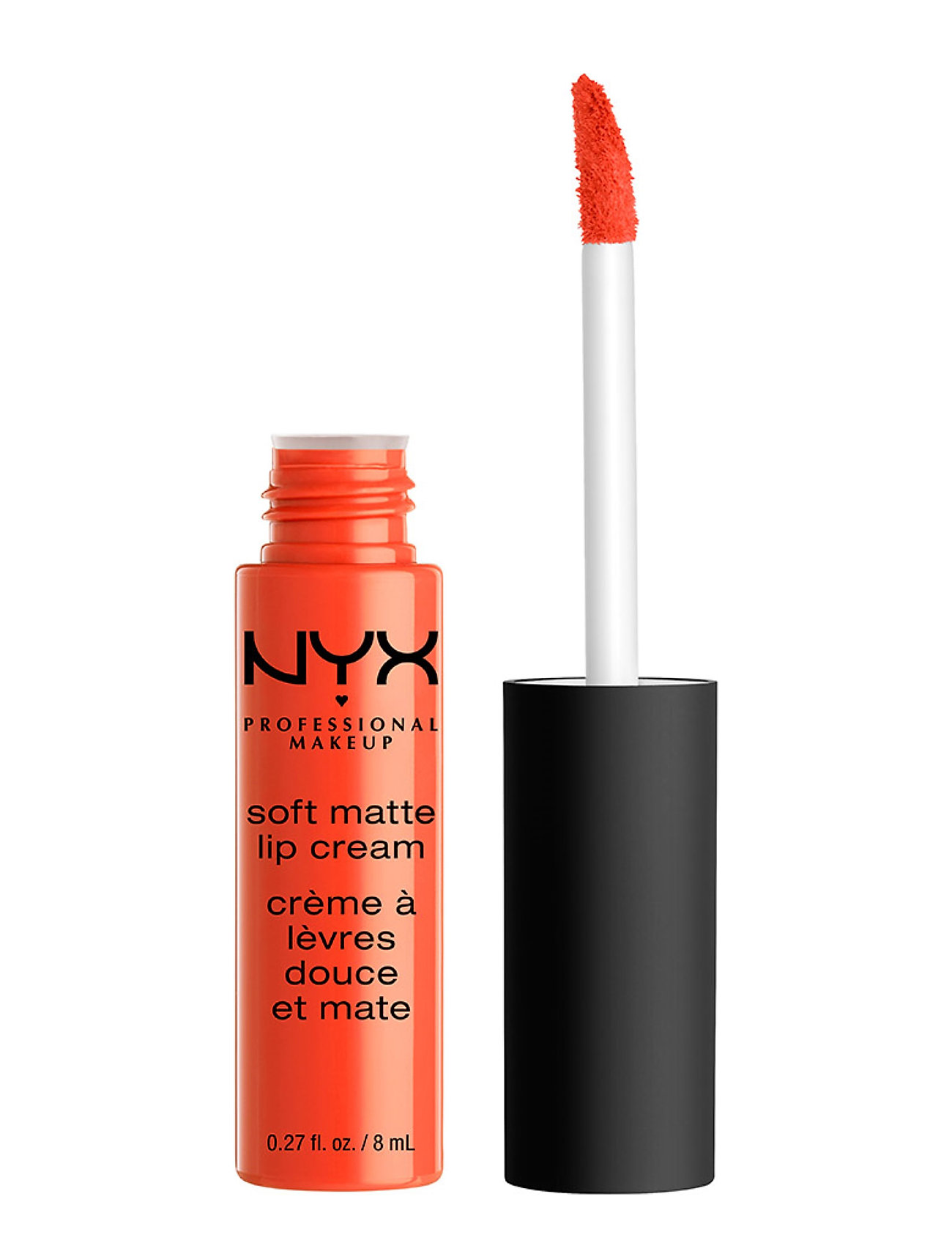Image of Soft Matte Lip Cream Lipgloss Makeup Orange NYX PROFESSIONAL MAKEUP (3158628601)