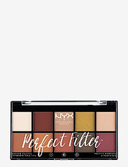 NYX PROFESSIONAL MAKEUP - PERFECT FILTER SHADOW PALETTE - Ögonskuggspalett - rustic antique - 0