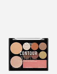 NYX PROFESSIONAL MAKEUP - CONTOUR INTUITIVE™ PALETTE (EYE SCULTPING SHADOW PALETTE/S - Øjenskyggepalet - shade 02 - 0