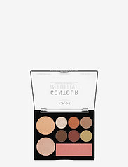 NYX PROFESSIONAL MAKEUP - CONTOUR INTUITIVE™ PALETTE (EYE SCULTPING SHADOW PALETTE/S - Øjenskyggepalet - shade 02 - 1