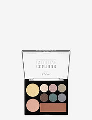 NYX PROFESSIONAL MAKEUP - CONTOUR INTUITIVE™ PALETTE (EYE SCULTPING SHADOW PALETTE/S - Øjenskyggepalet - shade 05 - 1