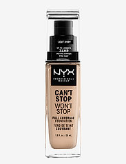 NYX PROFESSIONAL MAKEUP - Can't Stop Won't Stop Foundation - meikkivoide - light ivory - 0