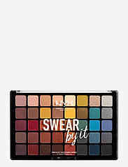 NYX PROFESSIONAL MAKEUP - Swear By It Shadow Palette - luomiväripaletti - no colour - 0