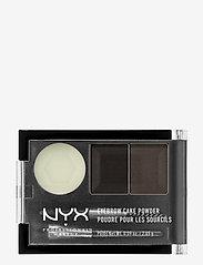 NYX PROFESSIONAL MAKEUP - Eyebrow Cake Powder - Øyebrynsskygge - black/ gray - 0