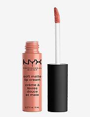 NYX PROFESSIONAL MAKEUP - SOFT MATTE LIP CREAM - liquid lipstick - stockholm - 0