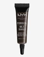 NYX PROFESSIONAL MAKEUP - EYEBROW GEL - Øjenbrynsgel - black - 0