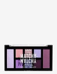 NYX PROFESSIONAL MAKEUP - Matchy Matchy Monochromatic Color Palette - Ögonskuggspalett - lilac - 0
