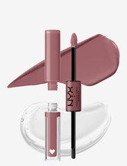 NYX PROFESSIONAL MAKEUP - Shine Loud Pro Pigment Lip Shine - liquid lipstick - overnight hero - 3