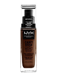 Can't Stop Won't Stop Foundation - DEEP ESPRESSO