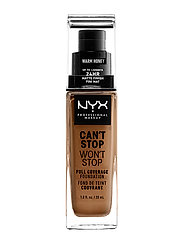 Can't Stop Won't Stop Foundation - WARM HONEY