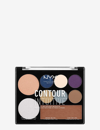 CONTOUR INTUITIVE™ PALETTE (EYE SCULTPING SHADOW PALETTE/S - Øjenskyggepalet - shade 04