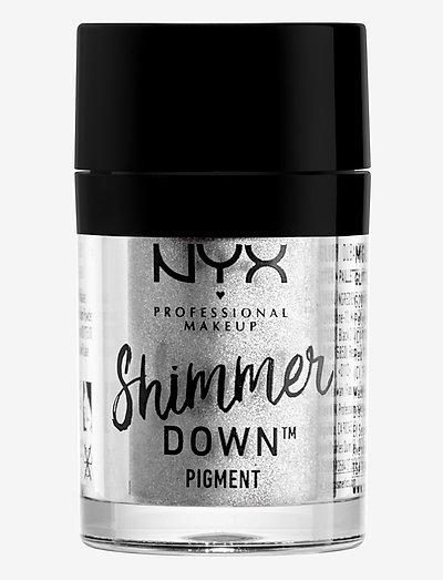 Shimmer Down Pigment Platinum - luomiväri - platinum