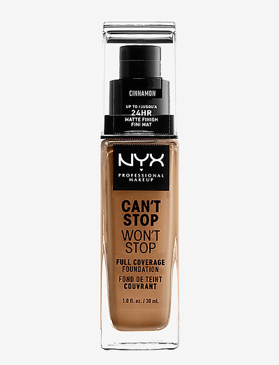 Can't Stop Won't Stop Foundation - foundation - cinnamon