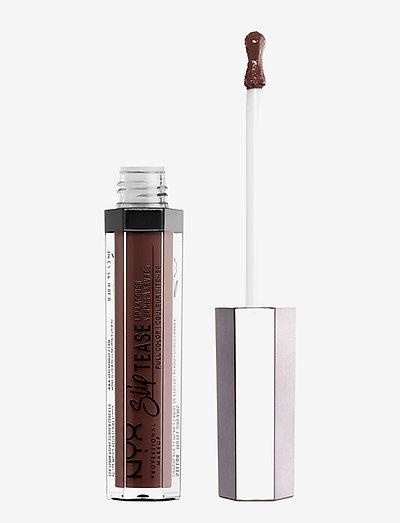 SLIP TEASE LIP LACQUER - liquid lipstick - shady