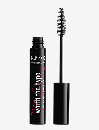 WORTH THE HYPE WATERPROOF MASCARA - BLACK