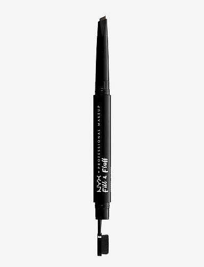 Fill & Fluff Eyebrow Pomade Pencil - Ögonbrynspenna - brunette