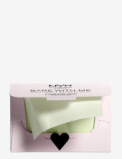 Bare With Me Hemp Blottning Paper - makeupværktøj - no colour
