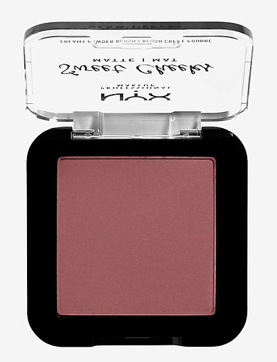 Sweet Cheeks Creamy Powder Blush Matte - rouge - fig