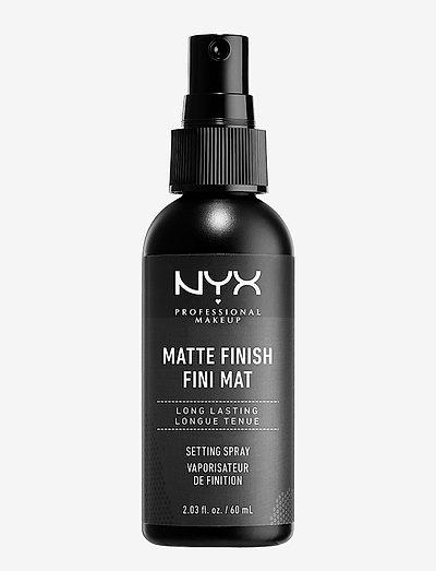 MAKE UP SETTING SPRAY - MATTE FINISH/LONG LASTING - setting spray - clear