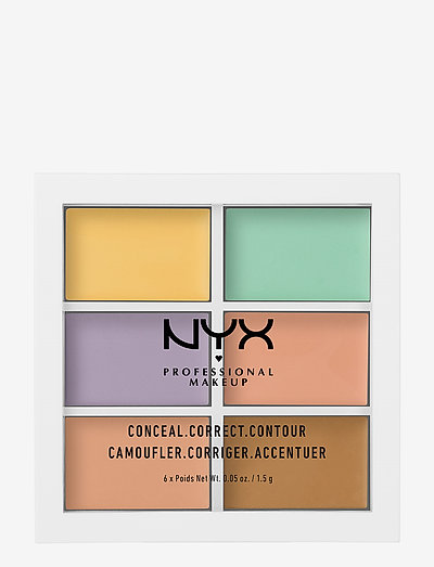 3C PALETTE - COLOR CORRECTING CONCEALER - contouring - natural