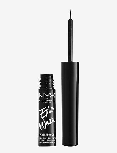 Epic Wear Liquid Liner - silmänrajauskynä - black