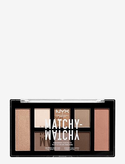 Matchy Matchy Monochromatic Color Palette - Øjenskyggepalet - taupe