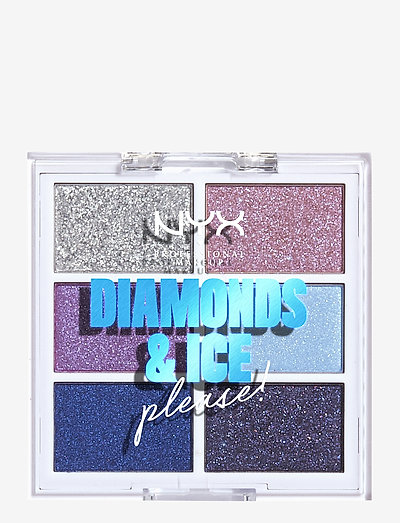 Diamonds & Ice Please! Palette Sky Gems - luomiväripaletti - palette sky gems