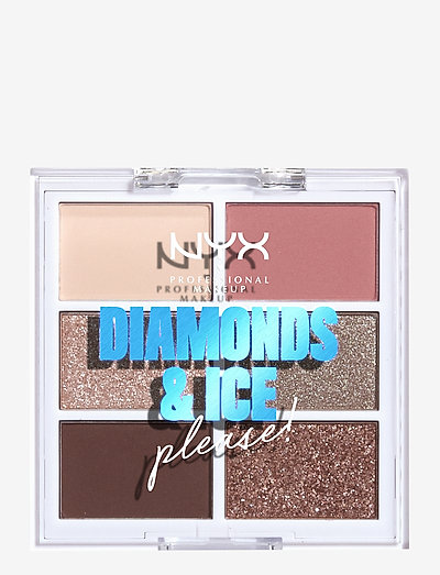 Diamonds & Ice Please! Palette Delirious - luomiväri - palette delirious