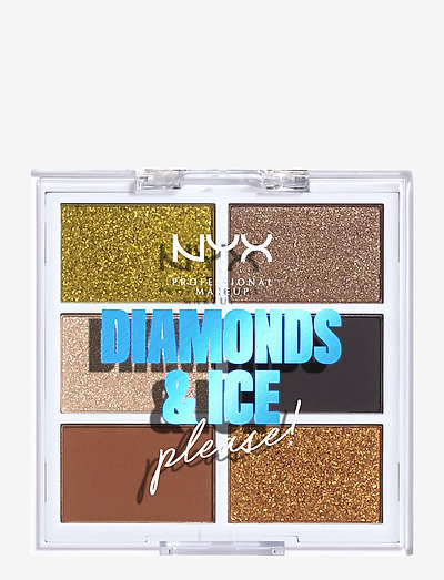 Diamonds & Ice Please! Palette Jeweled & Jaded - luomiväripaletti - palette jeweled & jaded