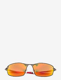 WHISKER - okulary przeciwsłoneczne w kształcie litery d - prizm ruby