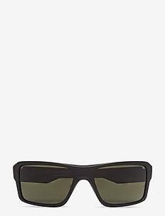 DOUBLE EDGE - okulary przeciwsłoneczne w kształcie litery d - matte black