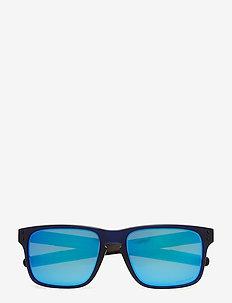 Holbrook Mix - glasses - matte translucent blue