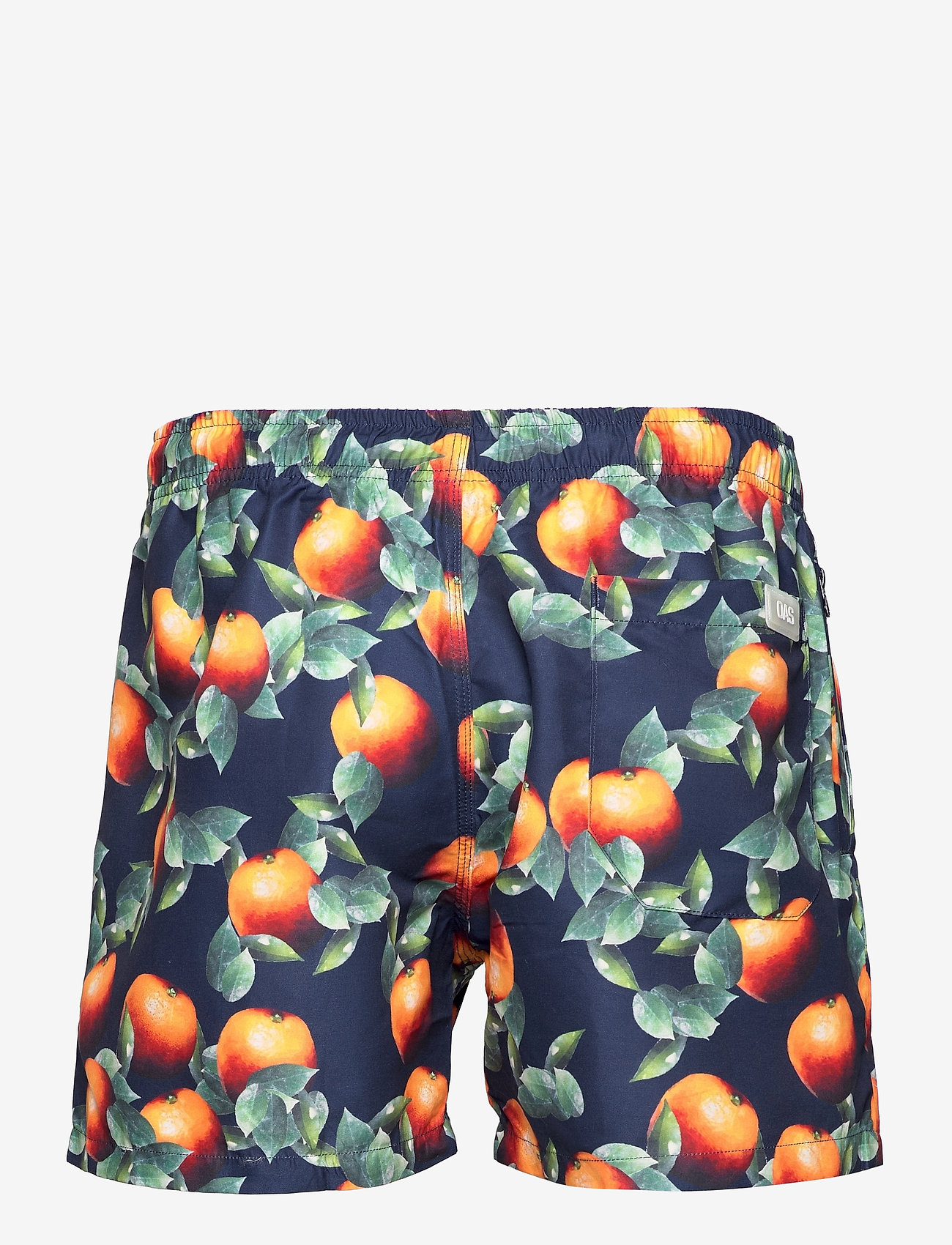 OAS - Dark Orange Swim Shorts - shorts - blue - 1