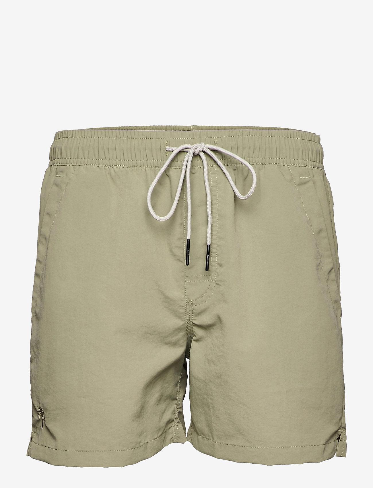 OAS - Green Nylon Swim Shorts - shorts - green - 0