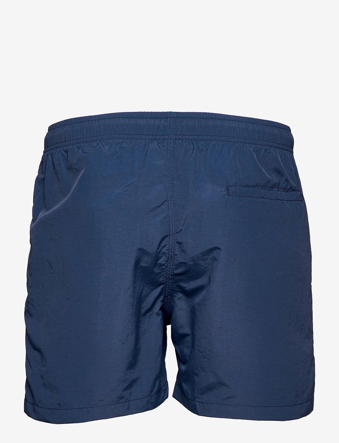 OAS - Navy Nylon Swim Shorts - shorts - blue - 1