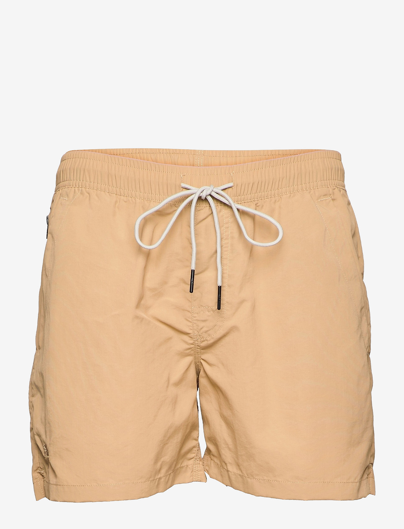 OAS - Beige Nylon Swim Shorts - shorts - beige - 0
