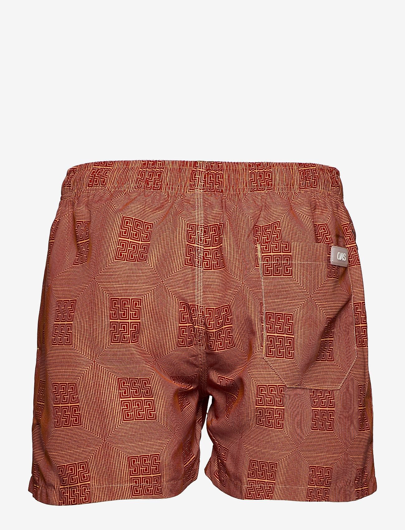 OAS - Reddy Swim Shorts - shorts - red - 1