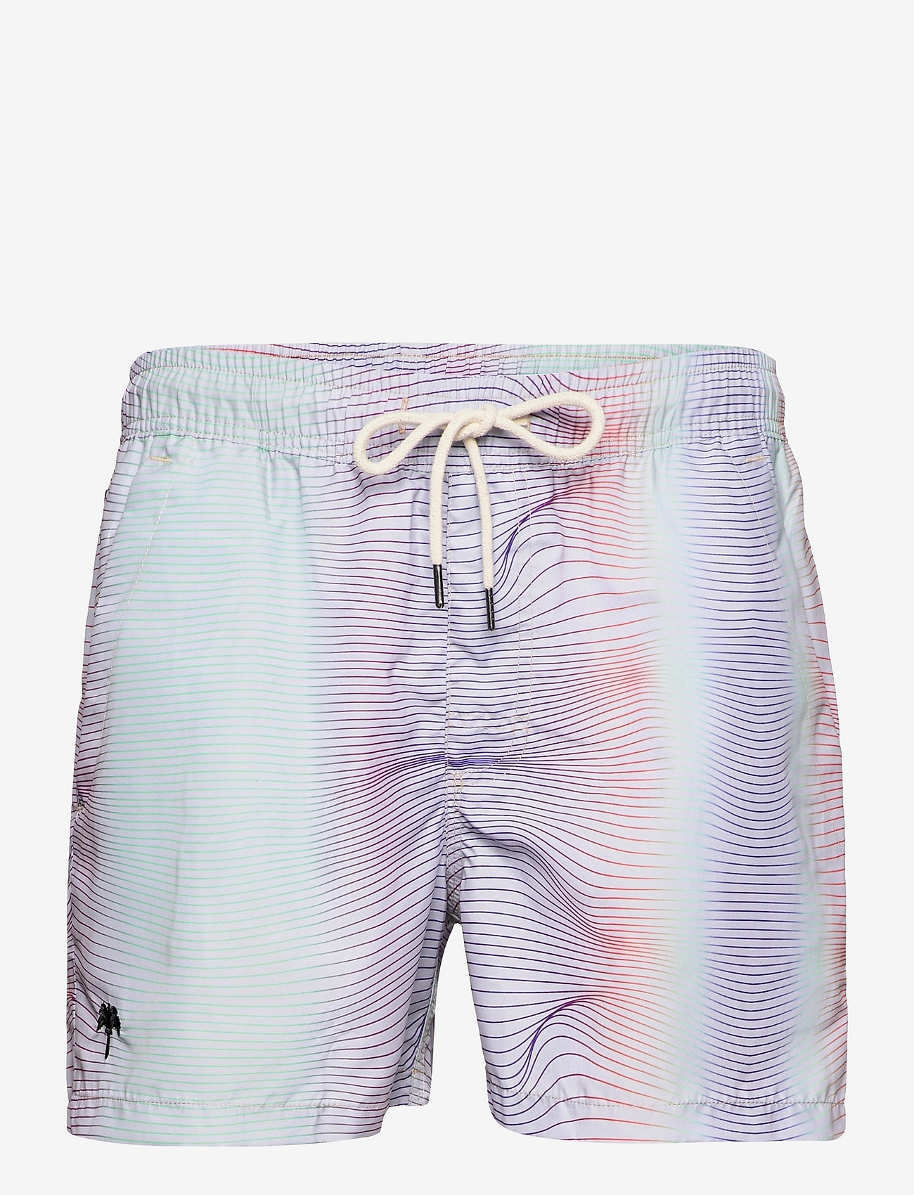 OAS - Rainbow Swim Shorts - shorts - multicolor - 0