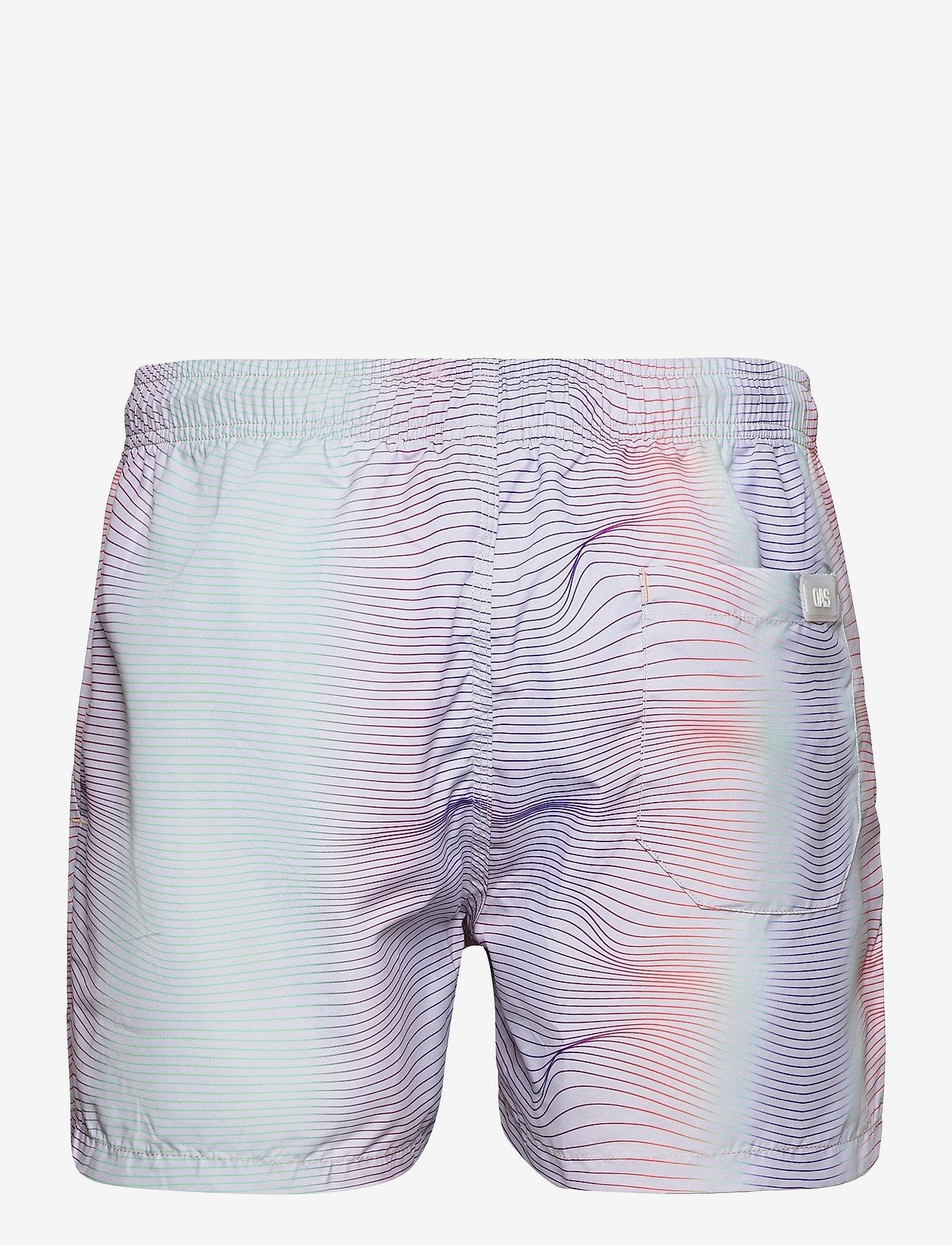 OAS - Rainbow Swim Shorts - shorts - multicolor - 1