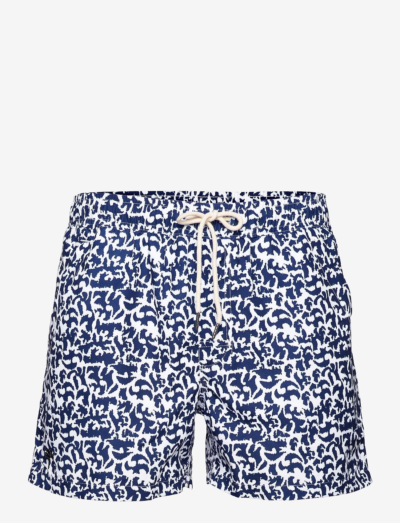OAS - Marrakech Swim Shorts - shorts - blue - 0