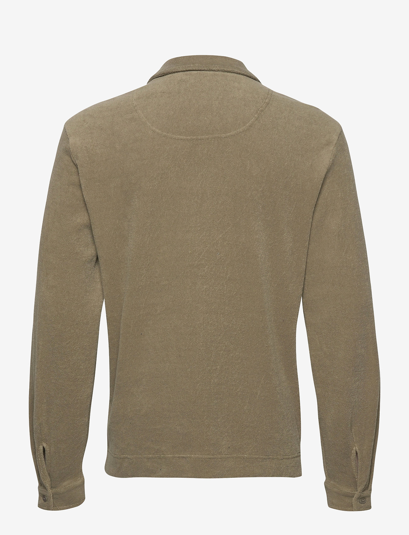 OAS - Khaki Terry Camisa - casual overhemden - green - 1