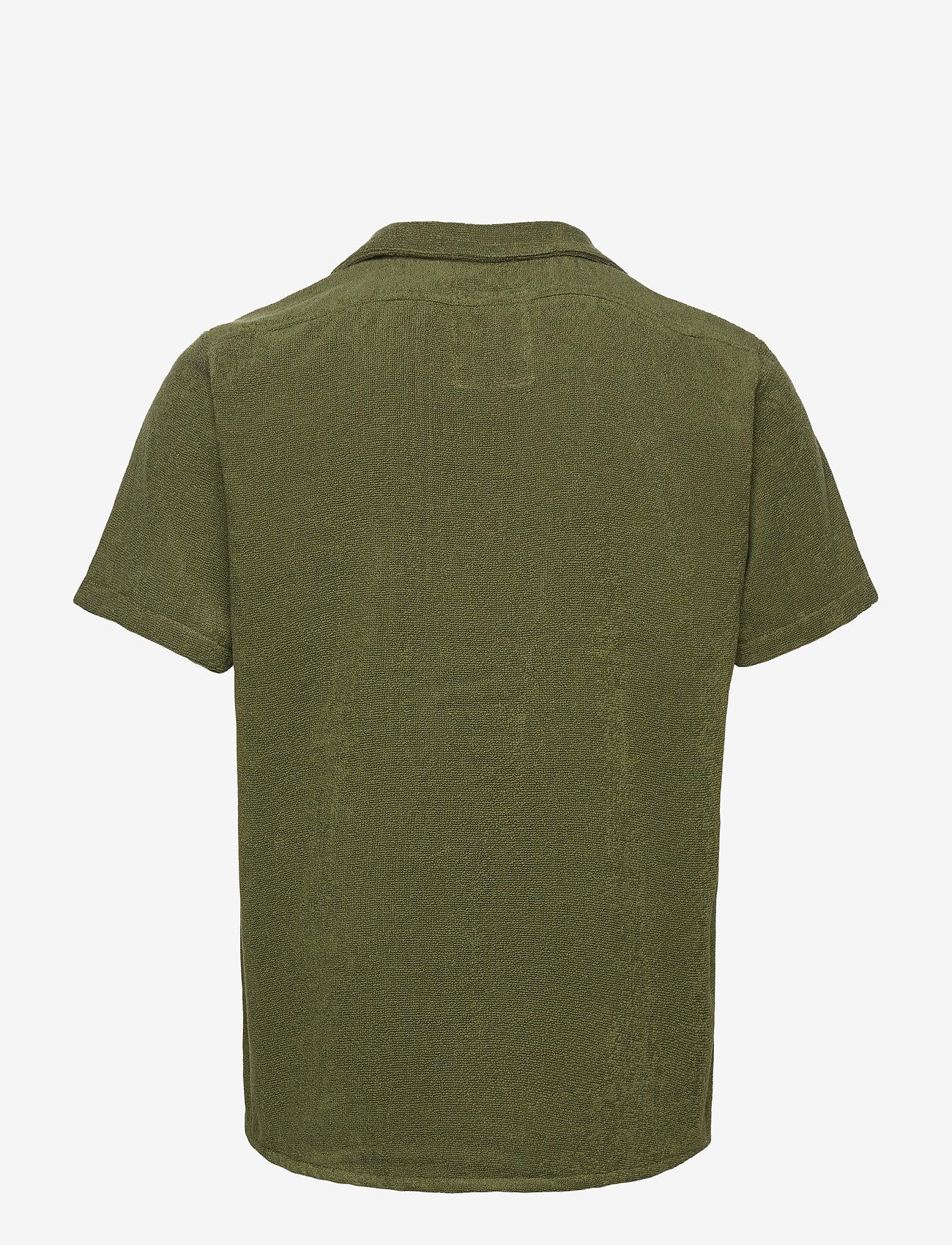 OAS - Army Cuba Terry Shirt - overhemden korte mouwen - green - 1
