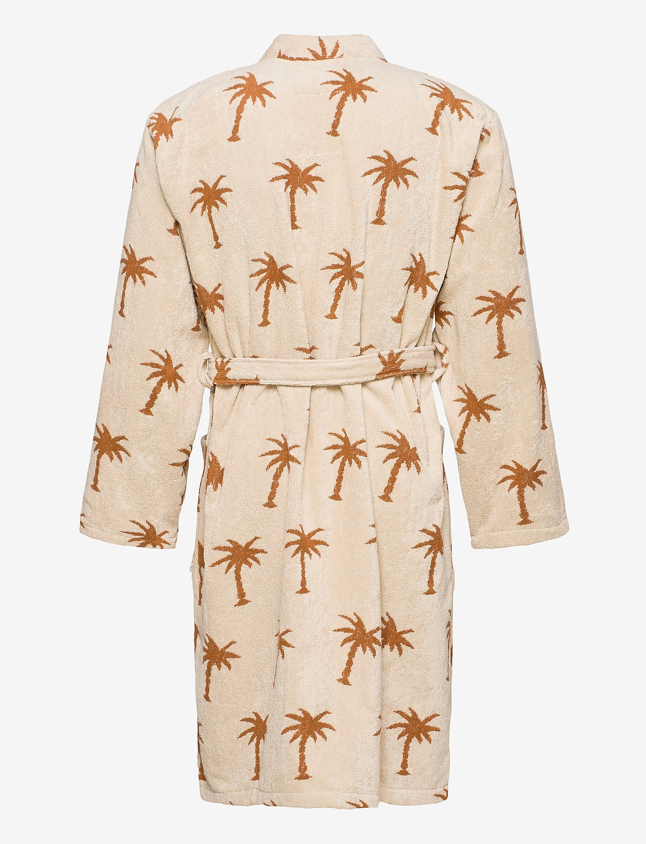 OAS - The Palmy Robe - badjassen - beige - 1