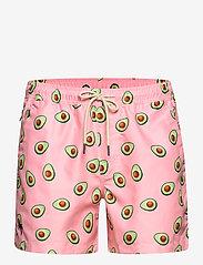 OAS - Avocado Swim Shorts - shorts - pink - 0