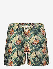 OAS - Roar Swim Shorts - shorts - green - 0
