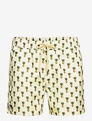 OAS - Pina Colada Swim Shorts - shorts - yellow - 0