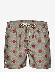 OAS - Grey Gatsby Swim Shorts - shorts - grey - 0