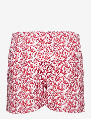 OAS - Red Coral Swim Shorts - shorts - red - 1